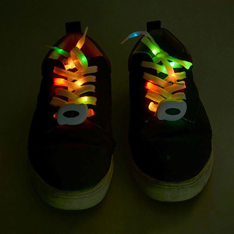 Noche de moda Usb carga brillo Led cambio luminiscente cordón Club fiesta luminoso resplandor luz Up Correa
