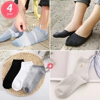 women cotton socks high quality casual breathable male solid solor comfortable business ankle socks soft short sox wholesale