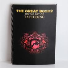 Tattoo book The Great books on the art of tattooing Tattoo Manuscripts Tattoo Patterns Atlas Tattoo accessories