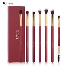 DUcare pinceaux de maquillage 6/7 pièces ensemble de pinceaux de maquillage pour les yeux
