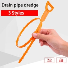Bath Hair Sewer Filter Drain Outlet Kitchen Sink  Anti Clogging Removal Tool
