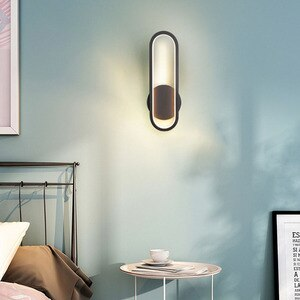 Acrylic LED Wall Lamp Living Room Bedroom Bedside Reading Wall Light Cafe Hotel Resturant Aisle Corridor Decor Lighting Fixtures