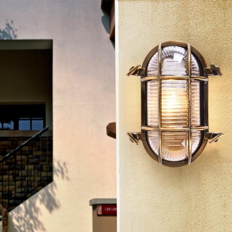 Loft Industrial Outdoor Wall Lamp Porch Balcony Garden Waterproof IP44 LED Wall Light Outdoor Lighting buitenlamp exterior enlarge