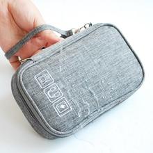 Kabel Tasche Organizer Drähte Ladegerät Digital USB Gadget Tragbare Elektronische Kopfhörer Fall Zipper Lagerung Beutel Zubehör Liefert