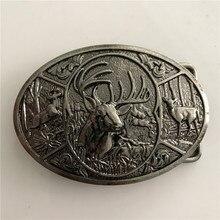 1 шт. охотничий олень ковбой ремень пряжка Hebillas Cinturon
