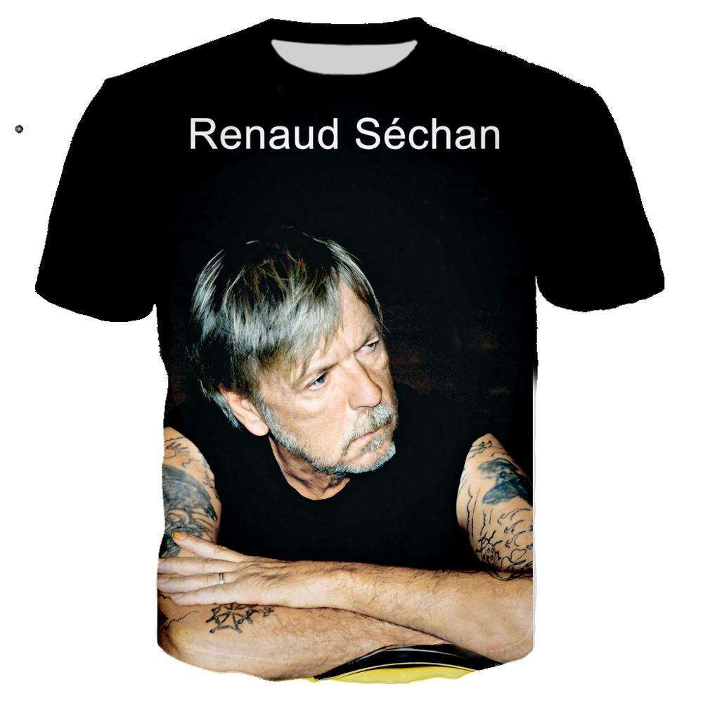 3D Imprimir Cantante De Pop N T Camisa Camiseta Rock Hombres Prendas...