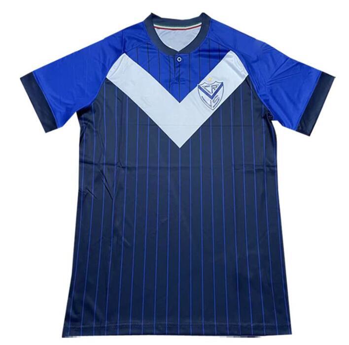 Camiseta de manga corta para hombre de Vélez Sarsfield... ABRAM JONSON Club...