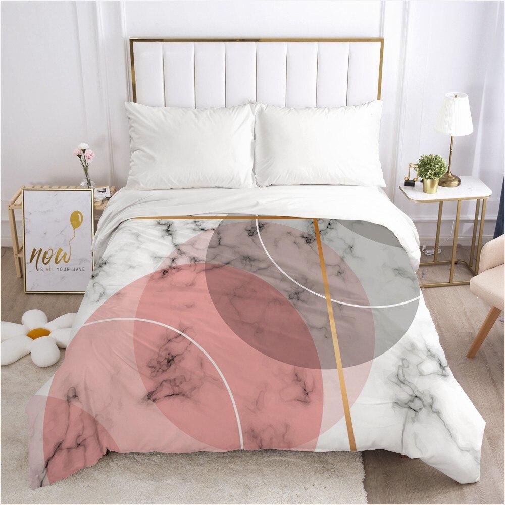 غطاء لحاف للفراش المعزي/لحاف/بطانية مع سحاب الملكة الملك أوروبا روسيا حجم الشمال 150/220x240 مخصص الوردي