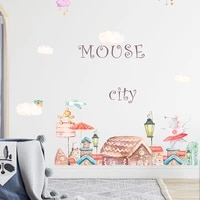 girl bedroom wall stickers beautification home decorative kids room self adhesive wallpaper home living room decoration poster