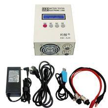 EBC-A20 Tester baterii 85W akumulatory litowe pojemność Test 5A ładowanie 20A rozładowanie wsparcie sterowanie oprogramowaniem PC