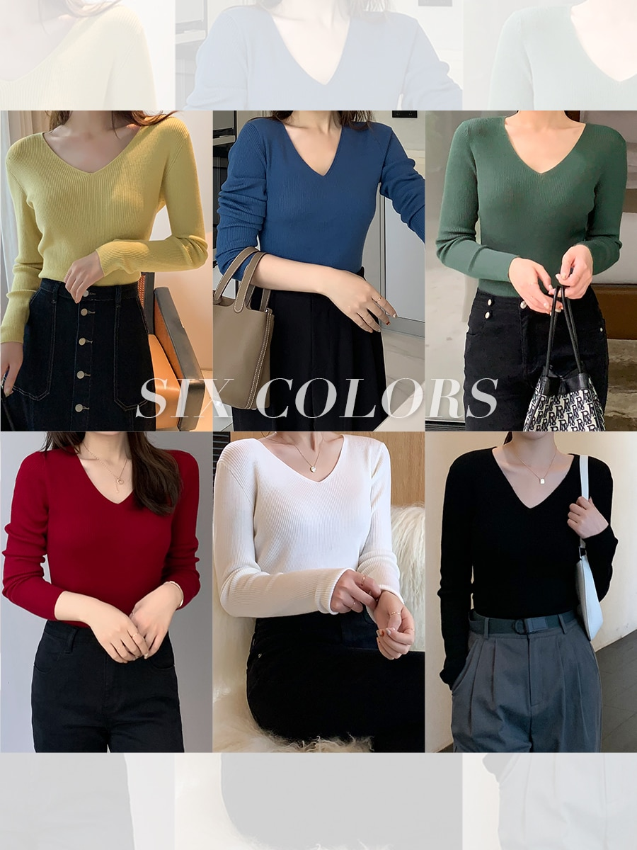 Machine Washable Full Wool Series 48 Pieces Worsted Basulan Full Wool Mid Collar High-Necked All-Matching Easy to Wear enlarge