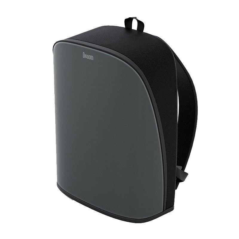 DIVOOM/نقطة لهجة بكسل على ظهره الذكور الاتجاه الإبداعية شاشة LED سعة كبيرة الدراجات حقيبة السفر