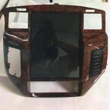 Para NISSAN patrulla Y61 2010, 2011 - 2018 Android 9 4 + 64G PX6 Vertical Tesla IPS pantalla DSP coche reproductor Multimedia Headunit Radio