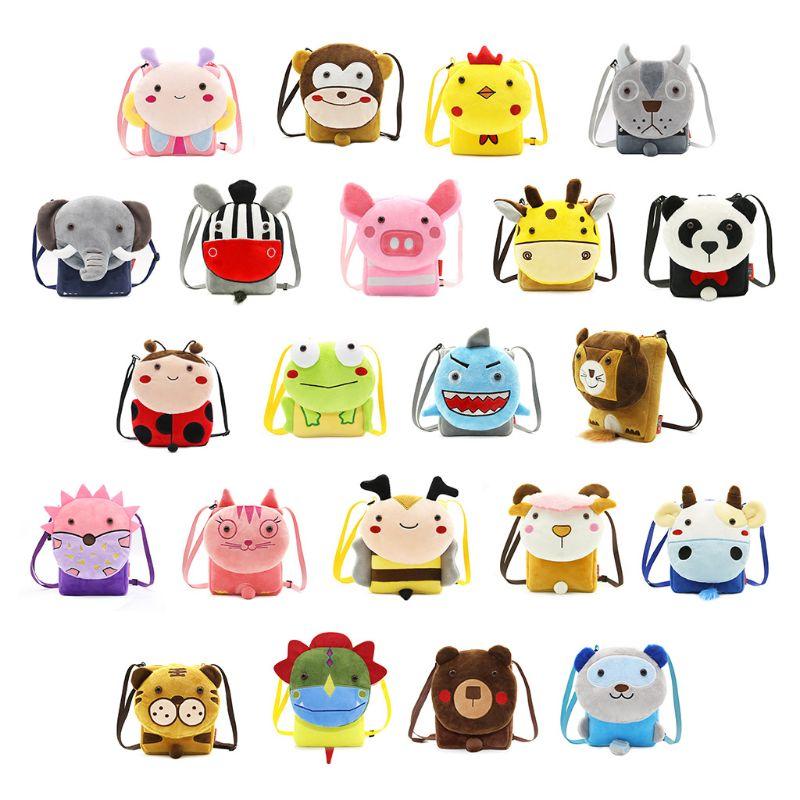 THINKTHENDO Baby Kid Girls Cartoon Shoulder Bag Messenger Handbag Crossbody Purse Satchel