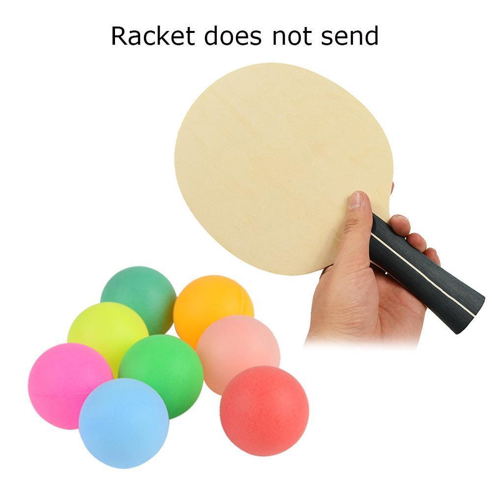 100pcs Color Table Tennis 40 Mm PP Material Mixed Game Entertainment Advertising Ball Draw