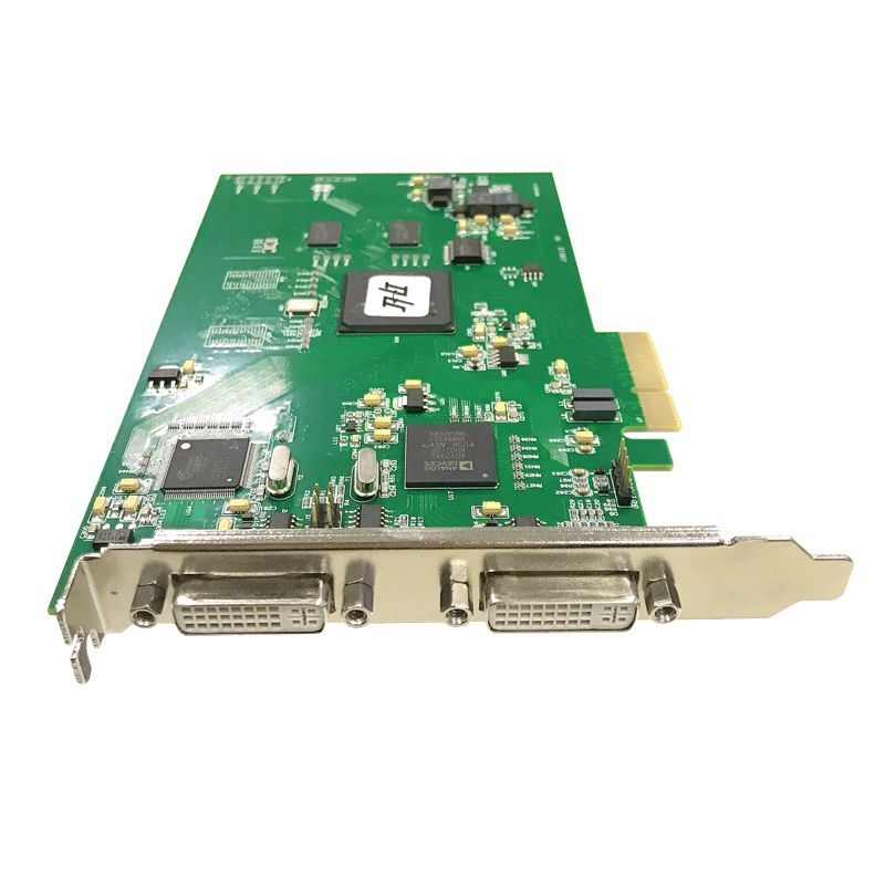 OK_VGA41A-4E + عالية الدقة صورة بطاقة اكتساب الفيديو DVI لون الموجات فوق الصوتية B المنظار بالموجات فوق الصوتية