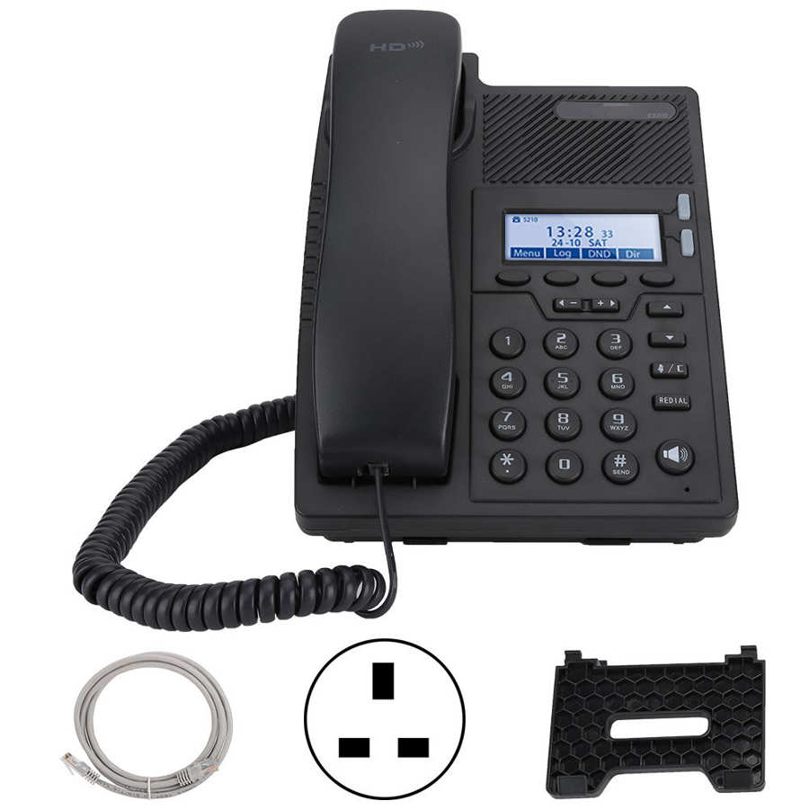 Ip-проводной телефон начального уровня SIP протокол домашний офис смартфон поддерживает несколько языков Поддержка Ethernet POE питания