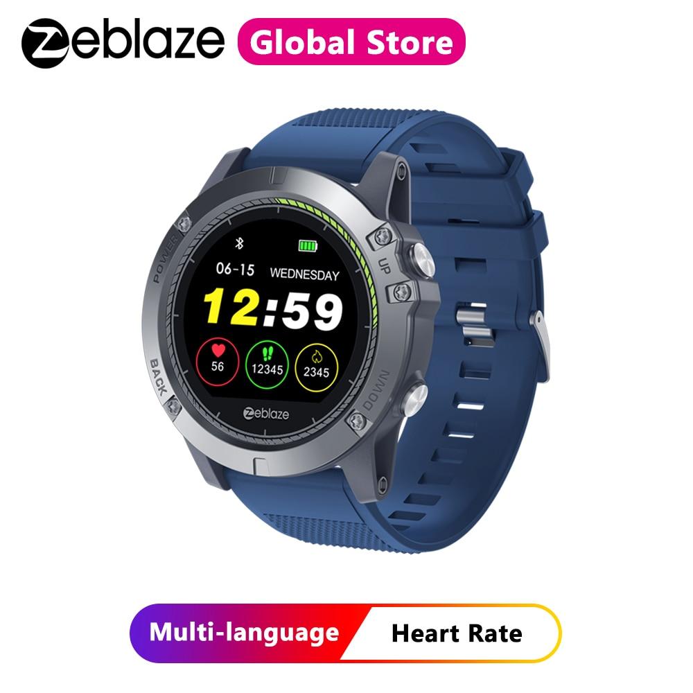 Zeblaze VIBE 3 HR Smart Watch IP67 Waterproof Activity Fitness Tracker Heart Rate Monitor BRIM Men Smartwatch