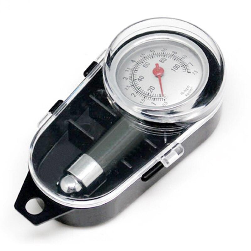 Eafc metal medidor de pressão dos pneus do carro auto medidor pressão ar testador ferramenta diagnóstico para jeep bmw fiat vw ford audi honda toyota