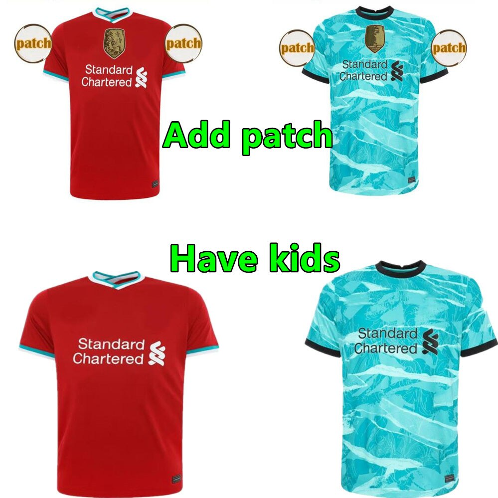 Novo 20 21 adulto liverpooles firmino mane virgil henderson robertson milner keita 2020 masculino camisa de futebol você pode personalizá-lo