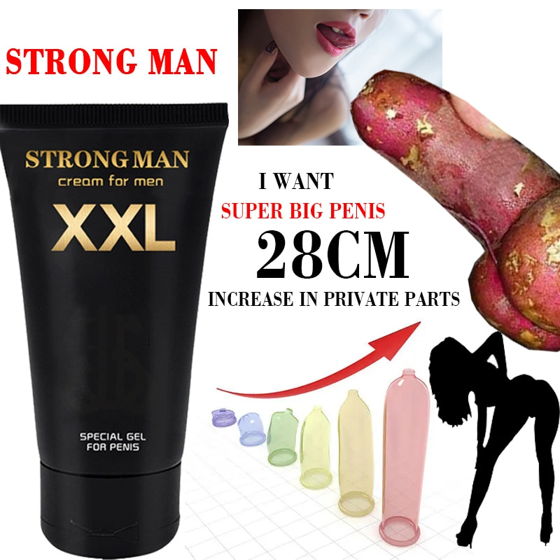 Men's penis enlargement cream increases penis growth and increases erection hardness gel anti-premat