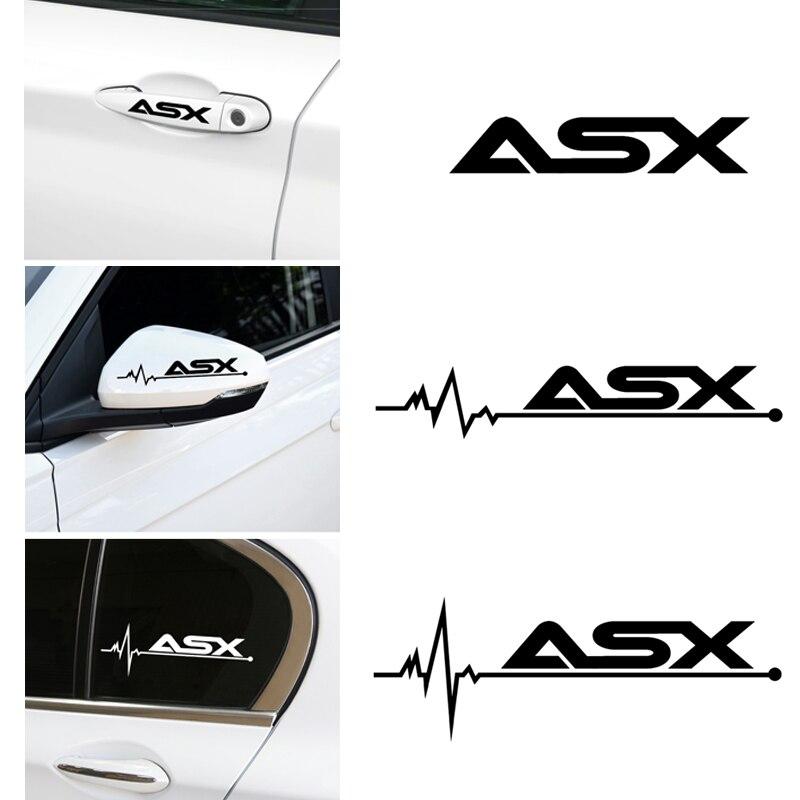 Personalización de cubiertas de vinilo para coches, pegatina de Deportes de competición, pegatina para coche para mitsubishi ASX lancer outlander pajero, accesorios