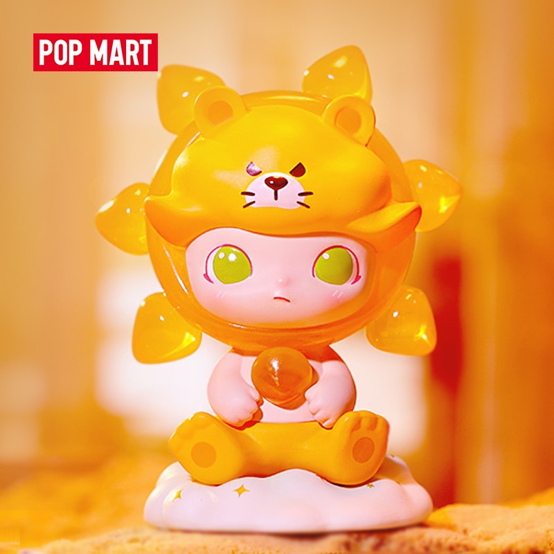 POP MART Dimoo Zodiac Series Toys figure Action Figure Birthday Gift Kid Toy free shipping