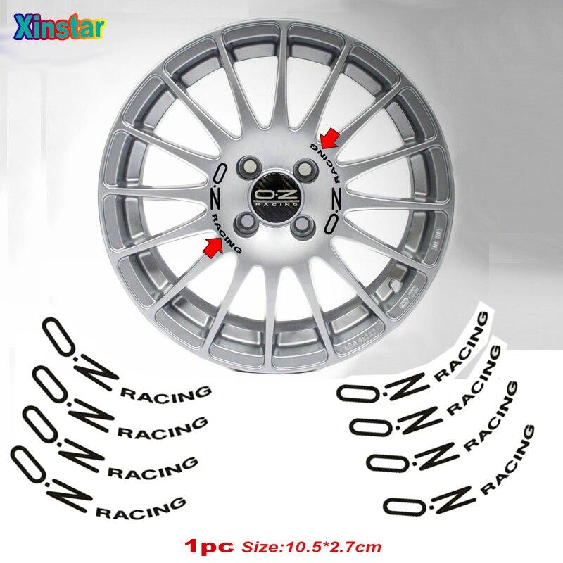 8 шт. автомобильные наклейки для OZ Racing украшение для колес автомобиля