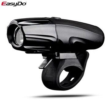 EasyDo велосипедный фонарь Водонепроницаемый USB Перезаряжаемый велосипедный фонарь 5 Вт 2200 мАч 500 люмен Инструмент Бесплатная установка Аксес...