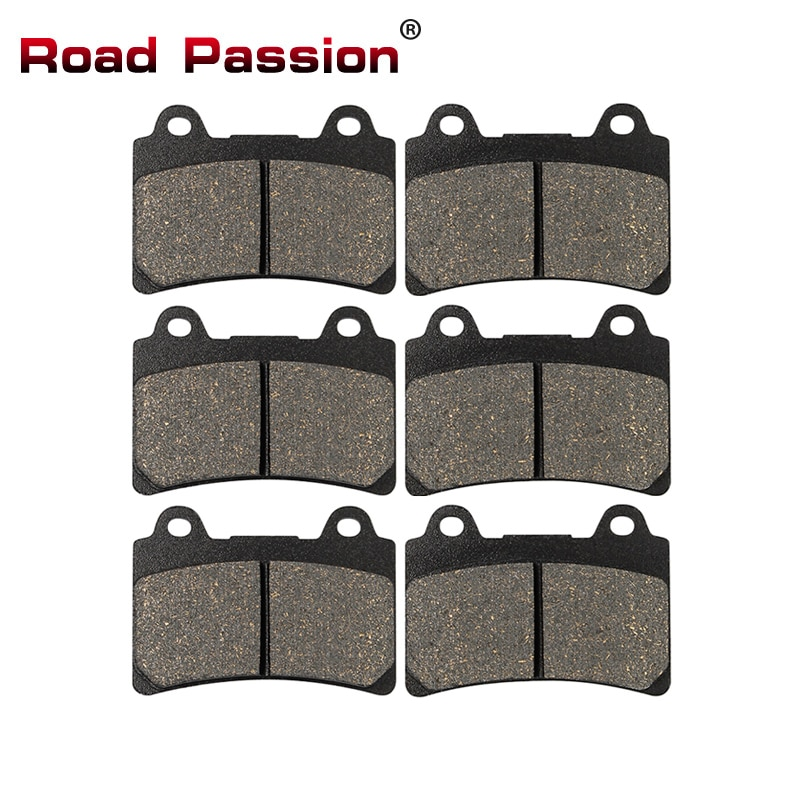 Road Passion Motorcycle Front and Rear Brake Pads for YAMAHA XVZ1300L Royal Star Tour Deluxe XVZ1300 Boulevard 1999 2000 2001
