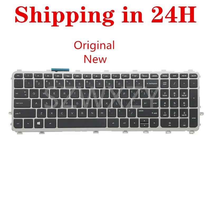 Nuevo para HP Envy 15-J 17-J Con Teclado retroiluminado US 720244-001 711505-001 736685-001 6037B0082701 V140626A