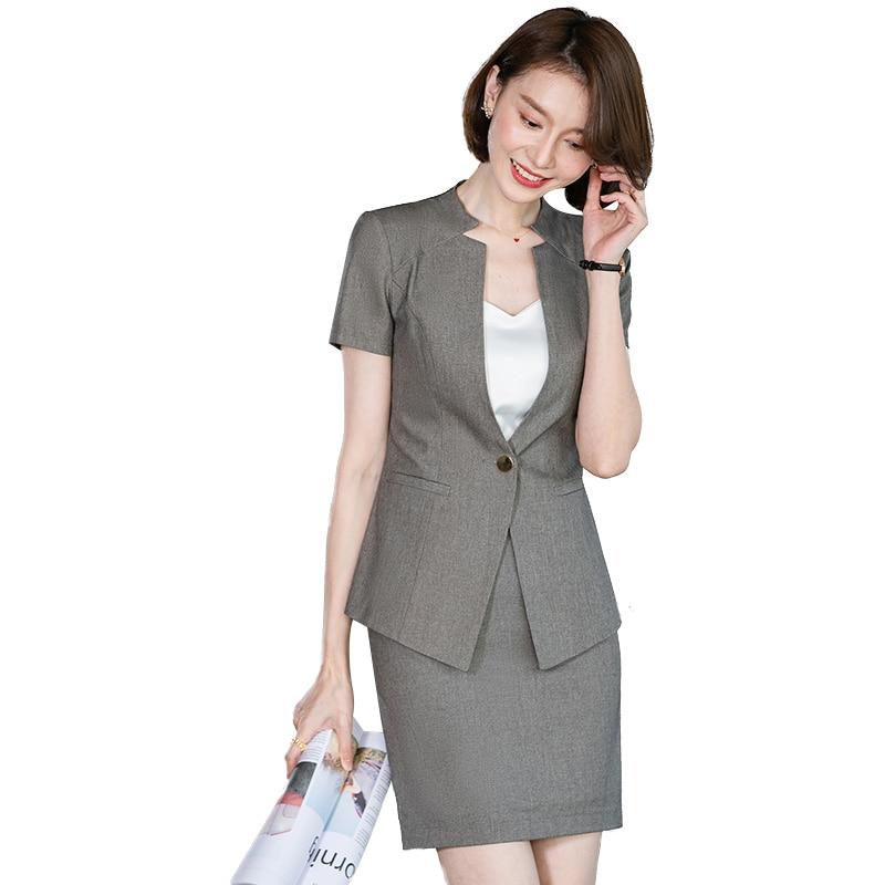 Saia feminina suirts para mulheres blazer e conjuntos de jaqueta de escritório senhoras trabalho wear roupas de negócios