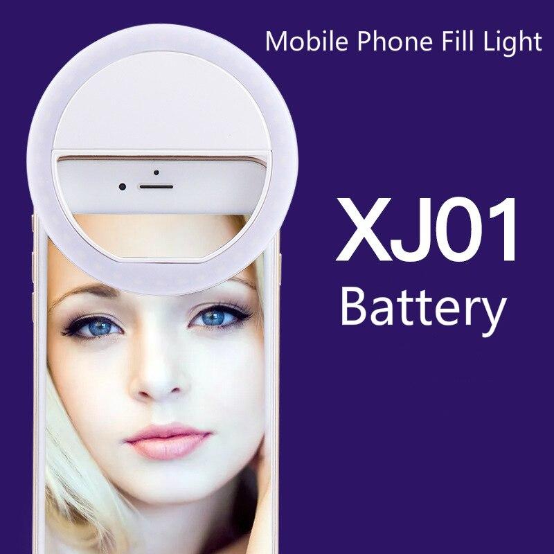 Telefone móvel luz suplementar led anel luz suplementar artefato beleza telefone móvel auto-temporizador luzes ao vivo photoflash