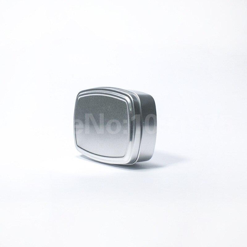 30 piezas 150ml cuadrado de aluminio ollas crema ungüentos hierbas frascos contenedor caso latas de Metal