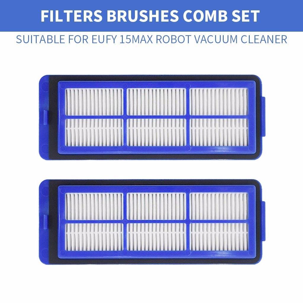 Los productos más vendidos de 2019, juego de filtros de barredora para Robot aspirador Eufy 15max para dispositivos portátiles, compatible con dropshipping