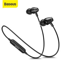 Baseus S09 Bluetooth Kopfhörer IPX5 Wasserdichte Drahtlose Kopfhörer Magnet Ohrhörer Stereo Auriculares Bluetooth Hörer für Telefon