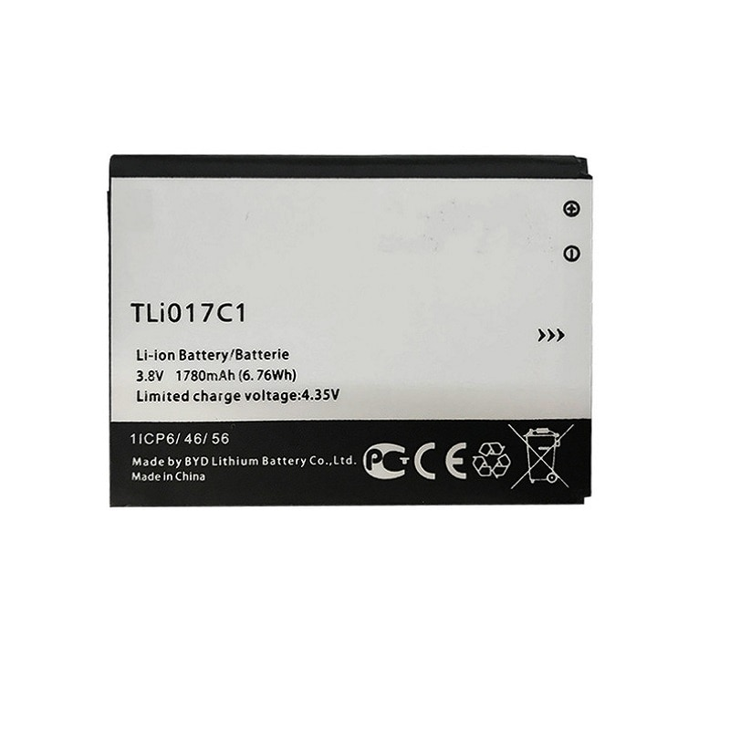 "New 1780mAh bateria Do Telefone Para Alcatel One Touch PIXI TLI017C1 3 4.5 4.5 ""5019D 5017D 5017A 5017X 5017 5027B TLi017C1"