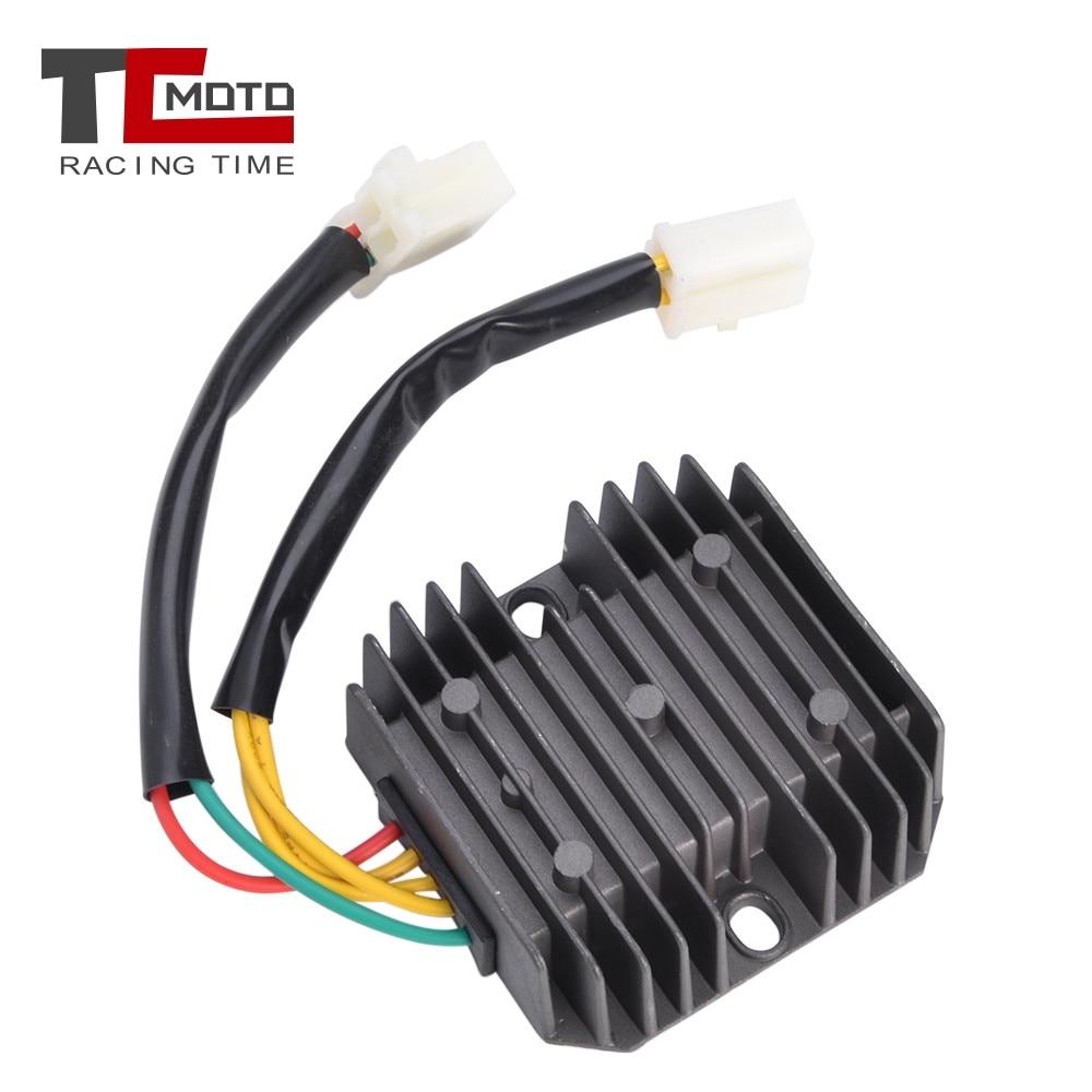 TCMOTO Motorrad 5 Drähte Spannungsreglergleichrichter Für Honda CH125 CH150 CN250 Ersatzteile