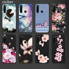 Coque de téléphone florale pour Xiaomi Redmi Note 8 7 8A 7A 8T K30 K20 6 Pro Mi 10 9 8 9T Pro SE A3 A2 Lite CC9 F1