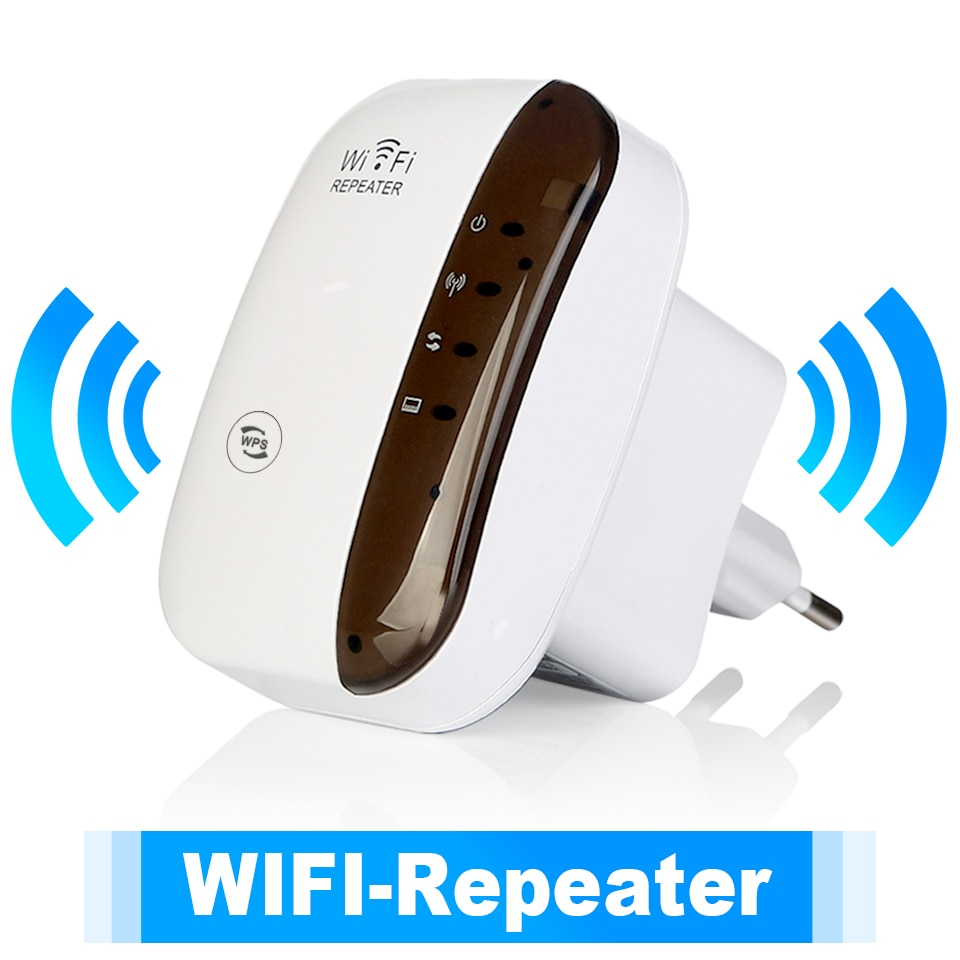 kebidu Wps Router 300Mbps Wireless WiFi Repeater WiFi Router WIFI Signal Boosters Network Amplifier Repeater Extender WIFI Ap