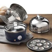 220v household electric steaming cooker stainless steel multi cooker 2 layers electric steamer stewed egg custard cooker