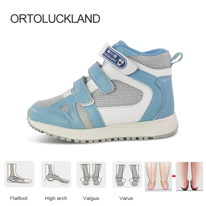 Kids Running Shoes Sneakers 2021 Boys Tennis Sport Orthopedic Footwear For Children Toddler Girls Leisure Casual Rubber Boots boots tiflani 10924830 baby shoes footwear of boys and girls for kids