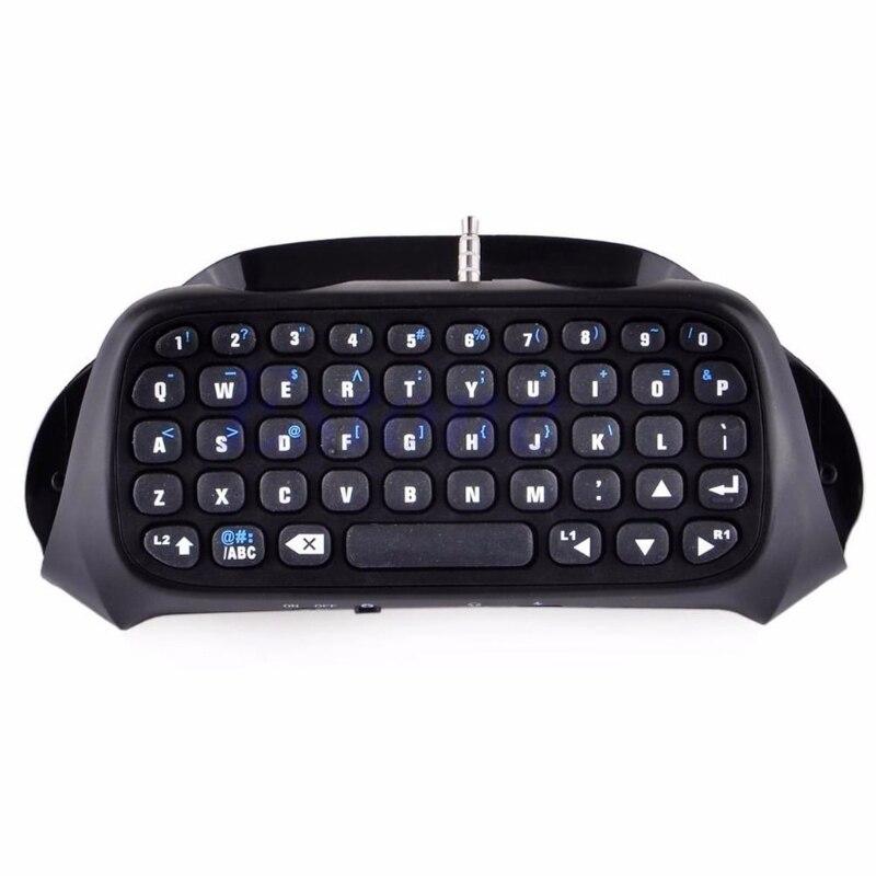 Para sony ps4 playstation 4 controlador acessório mini teclado sem fio bluetooth r9ja