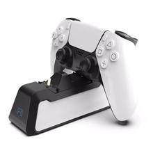 Двойное быстрое зарядное устройство для PS5, беспроводной контроллер USB 3,1 Type C, быстрая зарядка, док станция для Sony PlayStation5, геймпад