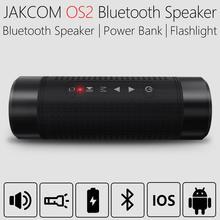 JAKCOM OS2 haut-parleur sans fil extérieur plus récent que les haut-parleurs pa sdr émetteur-récepteur haut-parleur boombox batterie externe mp3 crossover