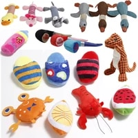 09 squeaky chew play toys pet squeaky puppy chew squeaker quack sound doll toy creative simulation donut pet supplies dog toys