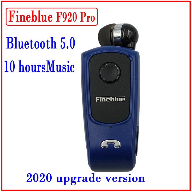 Fineblue-auriculares inalámbricos F920 Pro Mini, dispositivo de audio retráctil, portátil, con Bluetooth,...