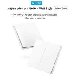 Aqara interruptor de parede casa inteligente interruptor controle remoto casa kit mi casa app wxkg02lm