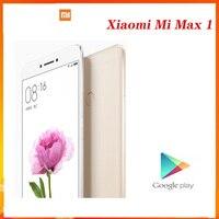 Xiaomi Mi Max 1 дюймовый экран 6,44 дюйма 3 ГБ ОЗУ 64 Гб ПЗУ сканер отпечатков пальцев 4850 мАч Android сотовый телефон Глобальная прошивка