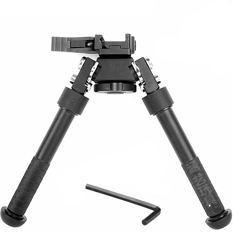 360 Degrees Water Bomb Rotating V8 Metal Tactical Tripod Retractable Bipod Scope Tactical Holder For Toy Gun Accessories